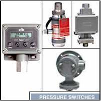 Pressostats, pressostats différentiels, transmetteurs de pressions
